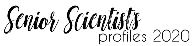 Senior Scientist Profiles 2020